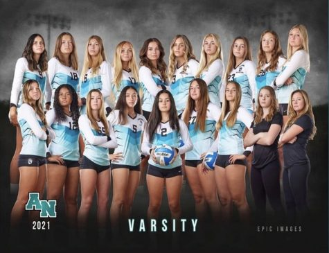 Girls Volleyball Leads the County