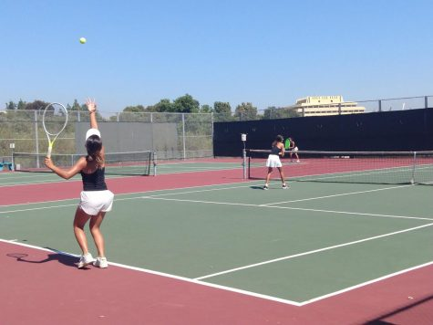 Girls Tennis Keeps on Swinging