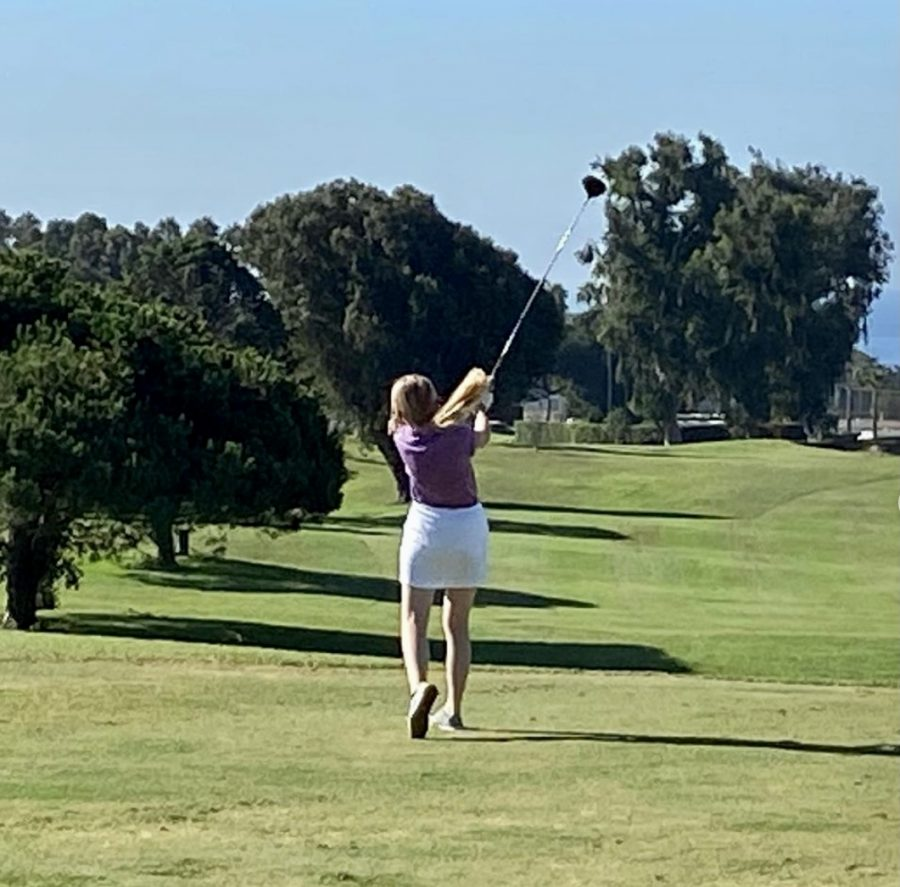 Girls Golf Swings Through Their Season